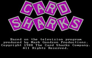 Pantallazo de Card Sharks para PC