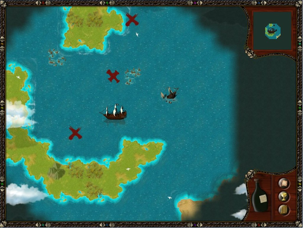 Pantallazo de Caribbean Pirate Quest para PC