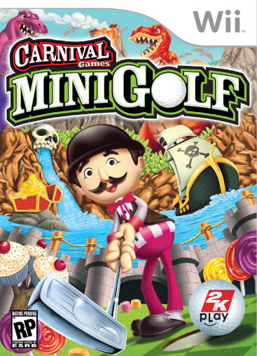 Caratula de Carnival Games: Mini-Golf para Wii