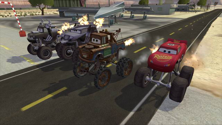 Pantallazo de Cars: Mater-National para PlayStation 2