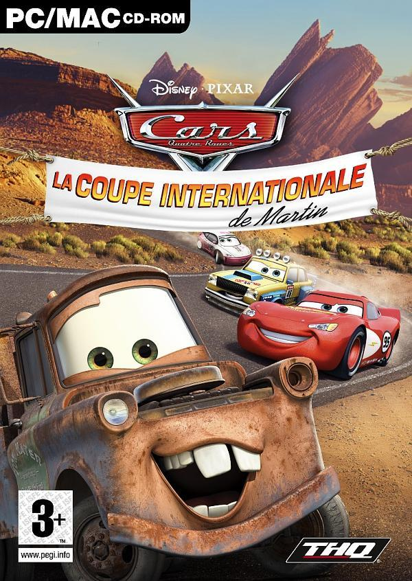 Caratula de Cars Mater-National para PC