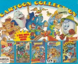 Caratula de Cartoon Collection para Amiga