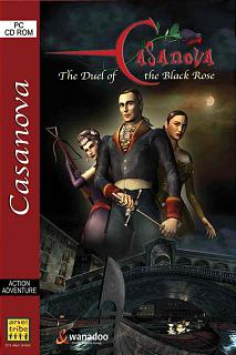Caratula de Casanova: The Duel of the Black Rose para PC
