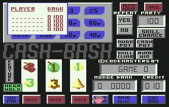 Pantallazo de Cash Bash para Commodore 64