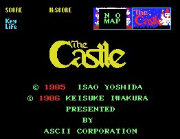 Pantallazo de Castle, The para MSX
