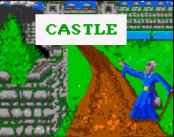 Pantallazo de Castle Of Doom para Amiga
