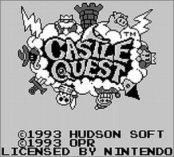Pantallazo de Castle Quest para Game Boy
