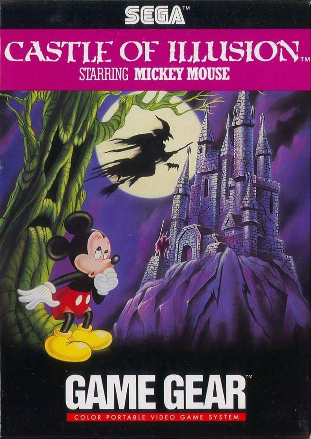 Caratula de Castle of Illusion Starring Mickey Mouse para Gamegear