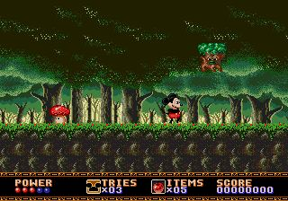 Pantallazo de Castle of Illusion Starring Mickey Mouse para Sega Megadrive