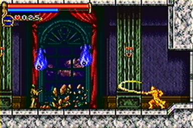 Pantallazo de Castlevania: Circle of the Moon para Game Boy Advance