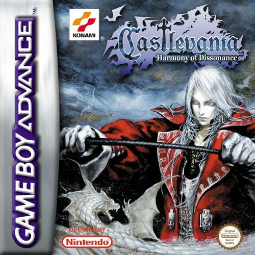 Caratula de Castlevania: Harmony of Dissonance para Game Boy Advance