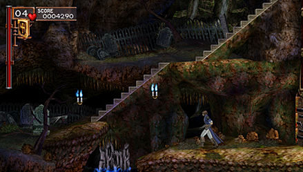 Pantallazo de Castlevania : The Dracula X Chronicles para PSP