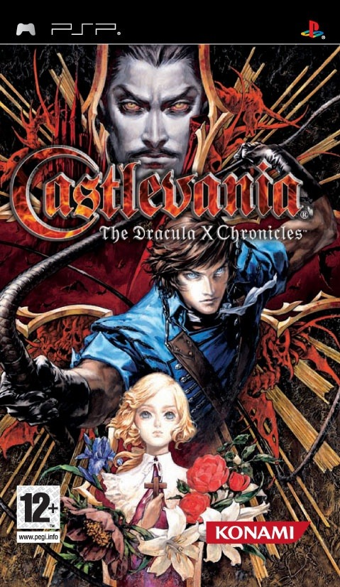 Caratula de Castlevania : The Dracula X Chronicles para PSP