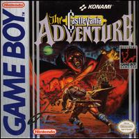 Caratula de Castlevania Adventure, The para Game Boy