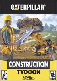 Caratula de Caterpillar Construction Tycoon para PC