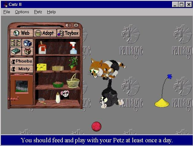 Pantallazo de Catz II: Your Virtual Petz para PC