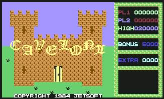 Pantallazo de Cavelon II para Commodore 64