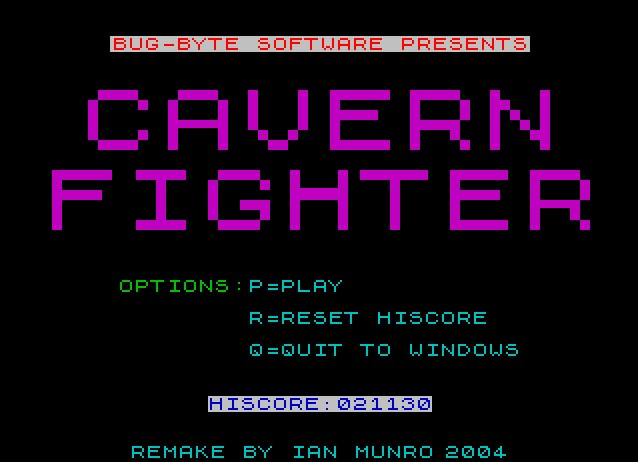 Pantallazo de Cavern Fighter para PC