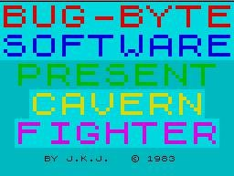 Pantallazo de Cavern Fighter para Spectrum