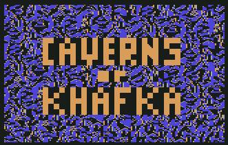 Pantallazo de Caverns of Khafka para Commodore 64