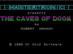 Pantallazo de Caves of Doom, The para Spectrum