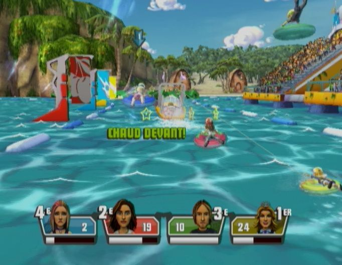 Pantallazo de Celebrity Sports Showdown para Wii