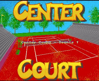 Pantallazo de Center Court Tennis para Amiga