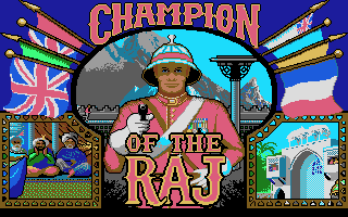 Pantallazo de Champion of The Raj para PC