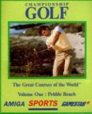 Carátula de Championship Golf: The Great Courses Of The World Vol.1: Pebble Beach