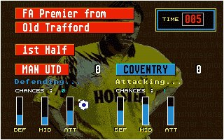 Pantallazo de Championship Manager\'94: End of Season Edition para Amiga