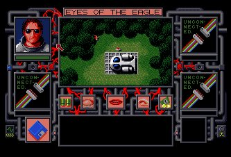 Pantallazo de Chaos In Andromeda: Eyes Of The Eagle para Amiga