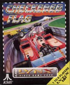 Caratula de Checkered Flag para Atari Lynx