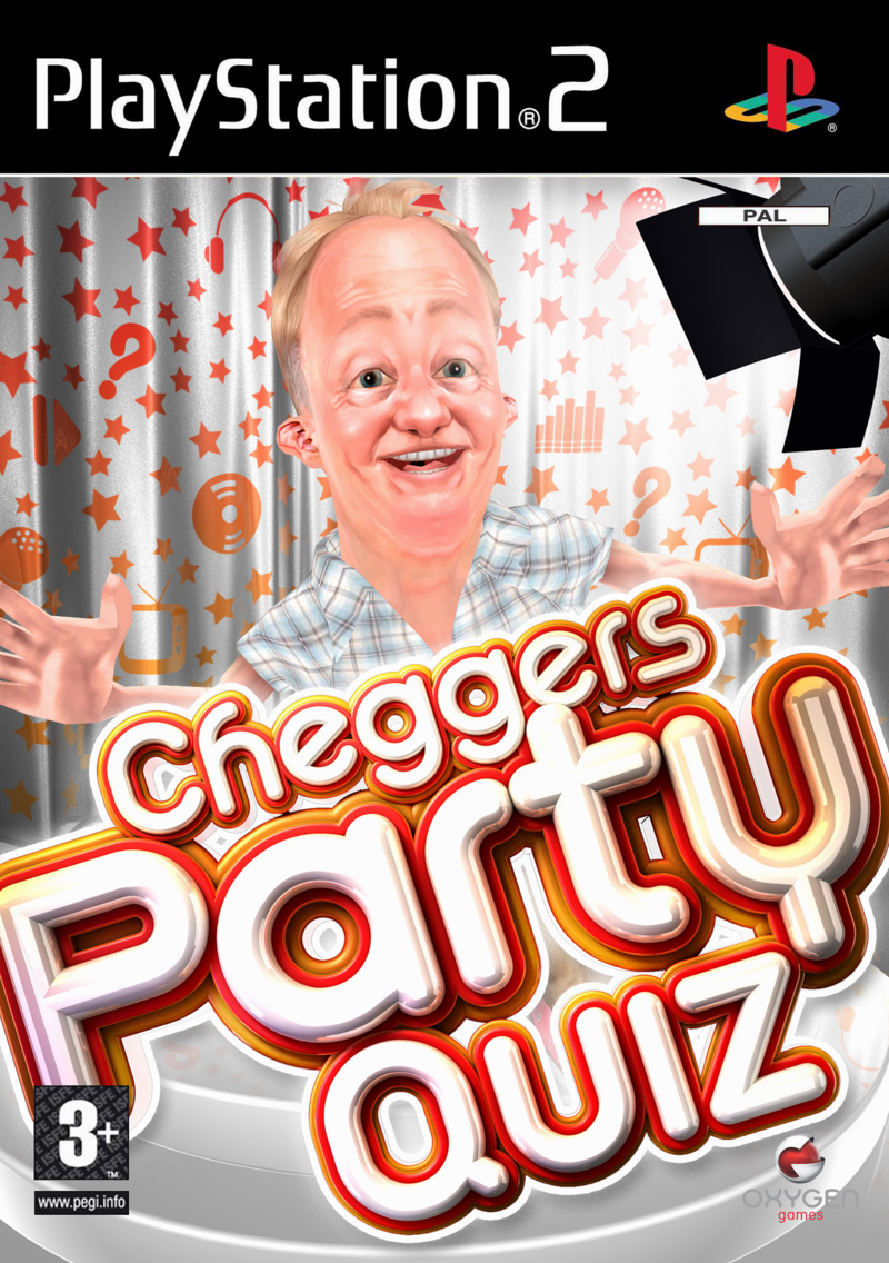 Caratula de Cheggers' Party Quiz para PlayStation 2