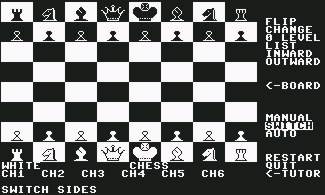 Pantallazo de Chess! para Commodore 64