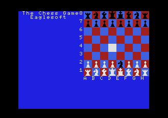 Pantallazo de Chess Game, The para MSX