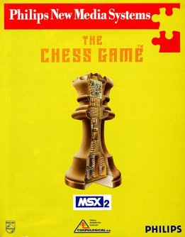 Caratula de Chess Game, The para MSX