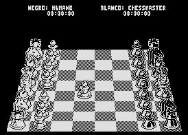 Pantallazo de Chess Master 2000, The para MSX