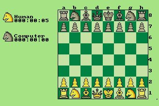 Pantallazo de Chess Player 2150 para Amiga