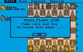 Pantallazo de Chess Player 2150 para Atari ST