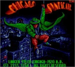 Pantallazo de Chicago Syndicate para Gamegear