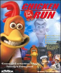 Caratula de Chicken Run CD-ROM Fun Pack para PC