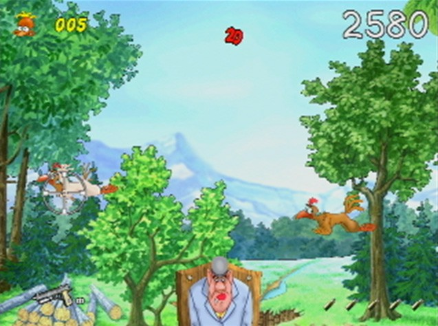 Pantallazo de Chicken Shoot para Wii