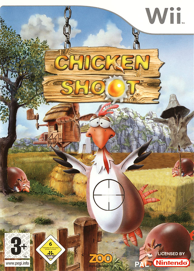 Caratula de Chicken Shoot para Wii