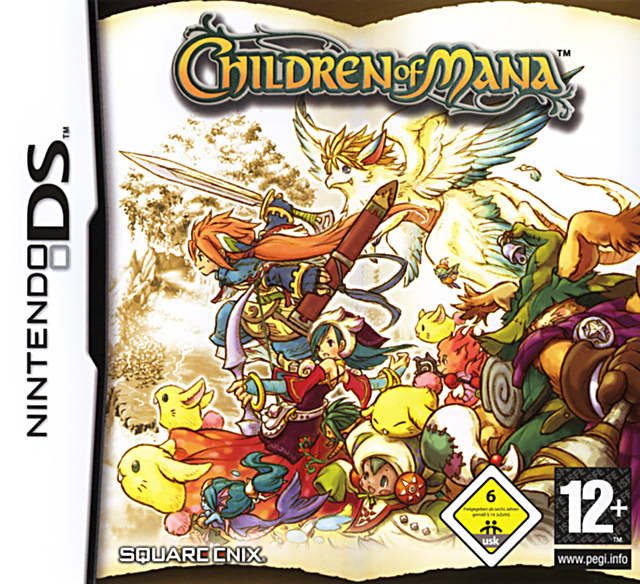 Caratula de Children of Mana para Nintendo DS