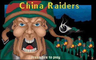 Pantallazo de China Riders para Amiga