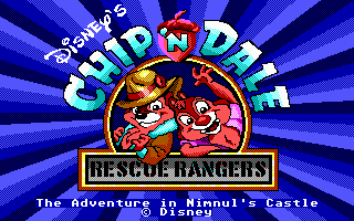 Pantallazo de Chip 'N Dale in: Rescue Rangers para PC