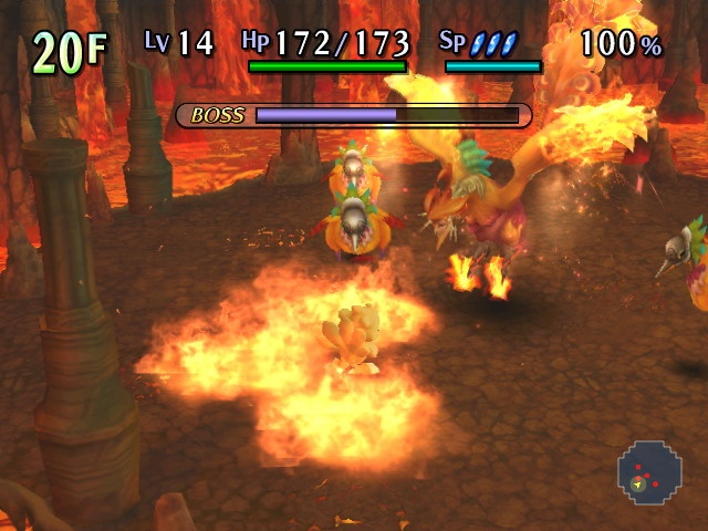 Pantallazo de Chocobo's Mystery Dungeon: The Labyrinth of Lost Time para Wii
