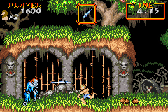 Pantallazo de Choh Makai-Mura R (Super Ghouls N' Ghosts) (Japonés) para Game Boy Advance