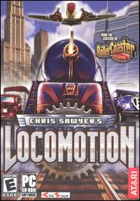 Caratula de Chris Sawyer's Locomotion para PC