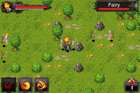 Pantallazo de Chronicles of Inotia, The: Legend of Feanor para Iphone